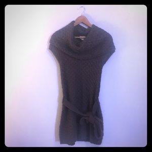 Anthropologie Kaisley Plum Sweater Dress